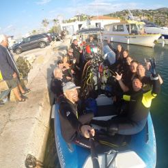 L'équipe Aquadémie au Lavandou